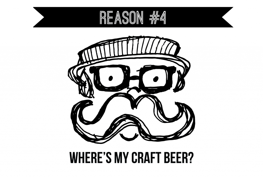 Reason #4 - Lack of Hipsters
