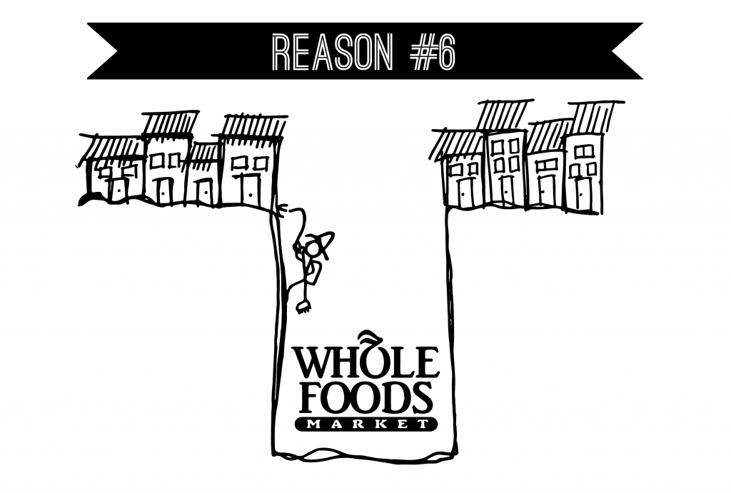Reason #6 - The Wholefoods Void