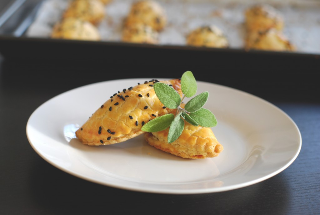 Pumpkin sage empanada