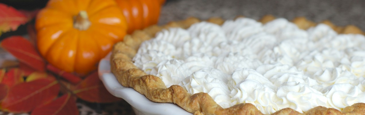 Chipotle Pumpkin Cream Pie