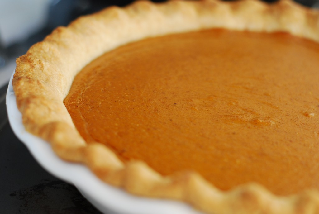 Fresh out of the Oven - Chipotle Pumpkin Cream Pie