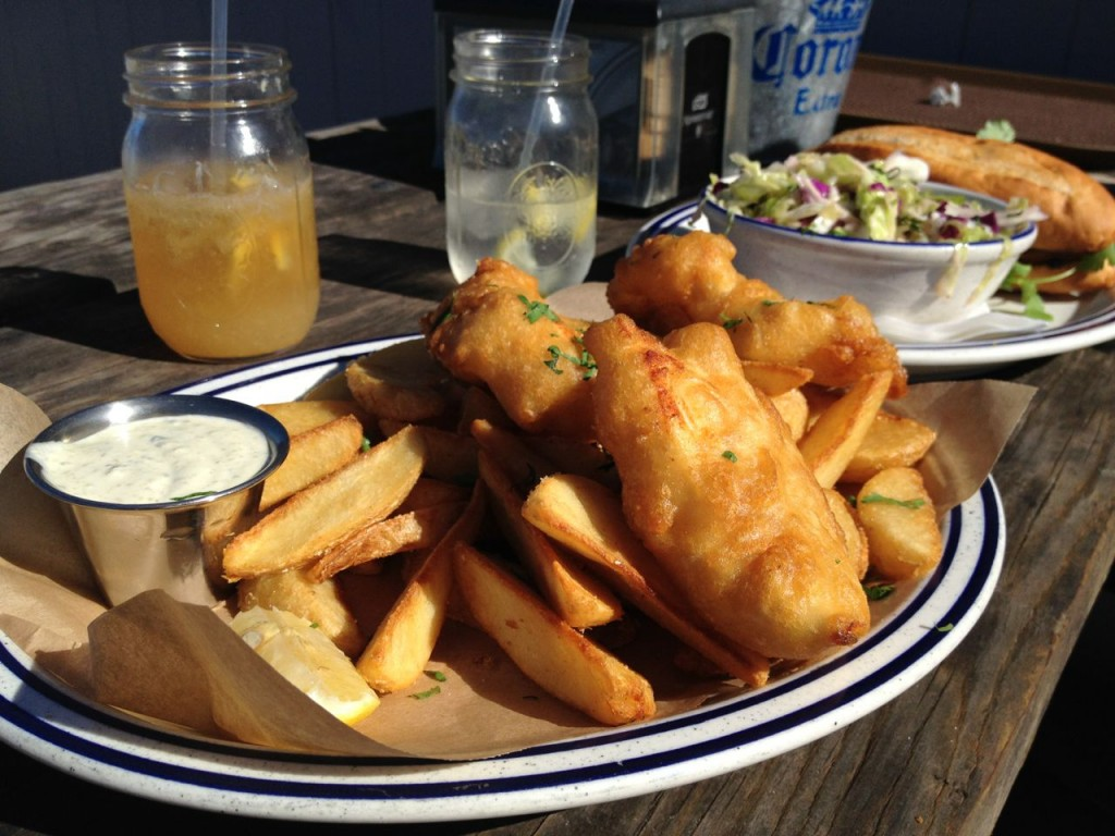 Fish and Chips Sausalito