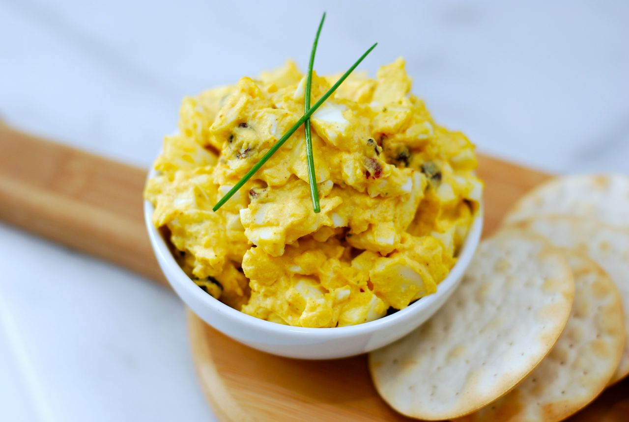 Curried Egg Salad @ getinmymouf.com