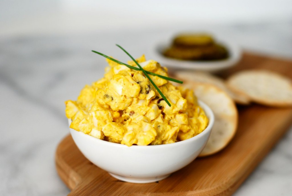 Curried Egg Salad @ getinmymouf.com