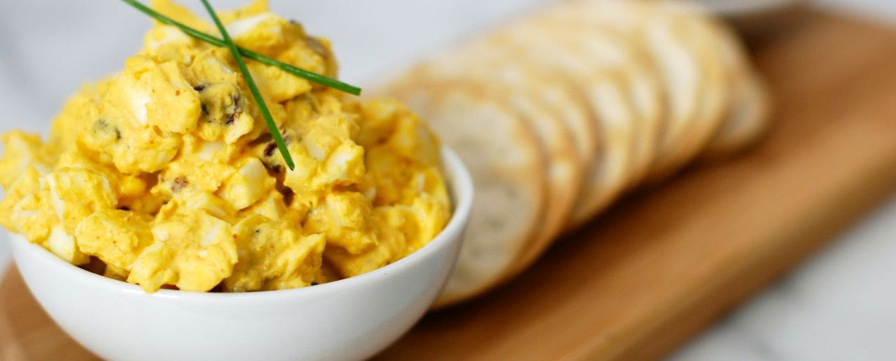 Curried Egg Salad | Get in my Mouf