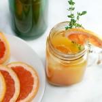 Grapefruit Cinnamon Simple Syrup | getinmymouf.com