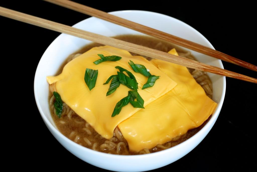 cheesy ramen roy choi | getinmymouf.com