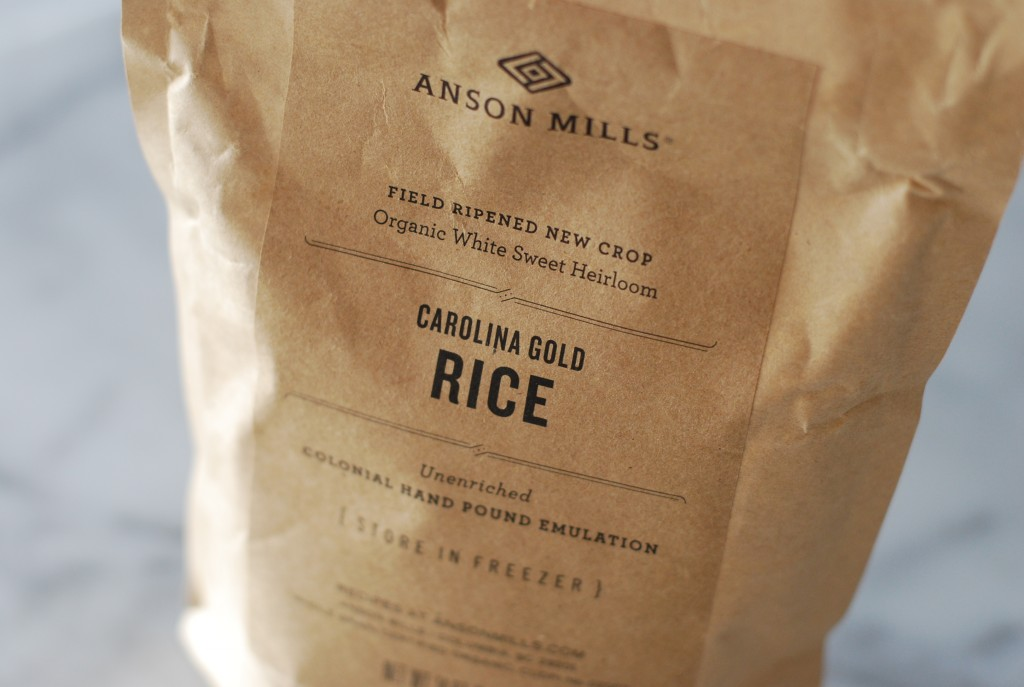 Anson Mills Carolina Gold Rice | getinmymouf.com