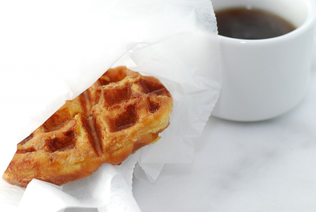 Doughnut French Toast Waffle | getinmymouf.com