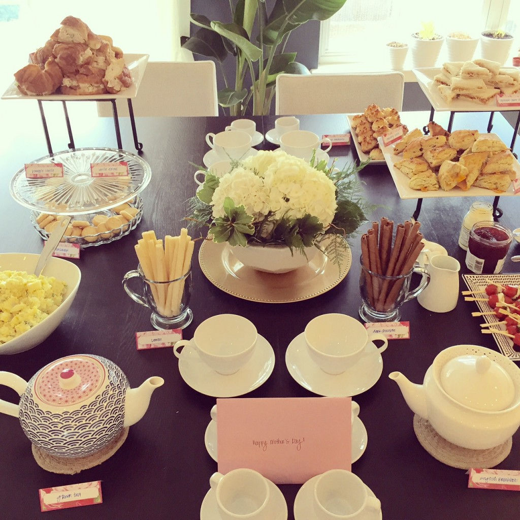 Mother's Day Tea Party | getinmymouf.com