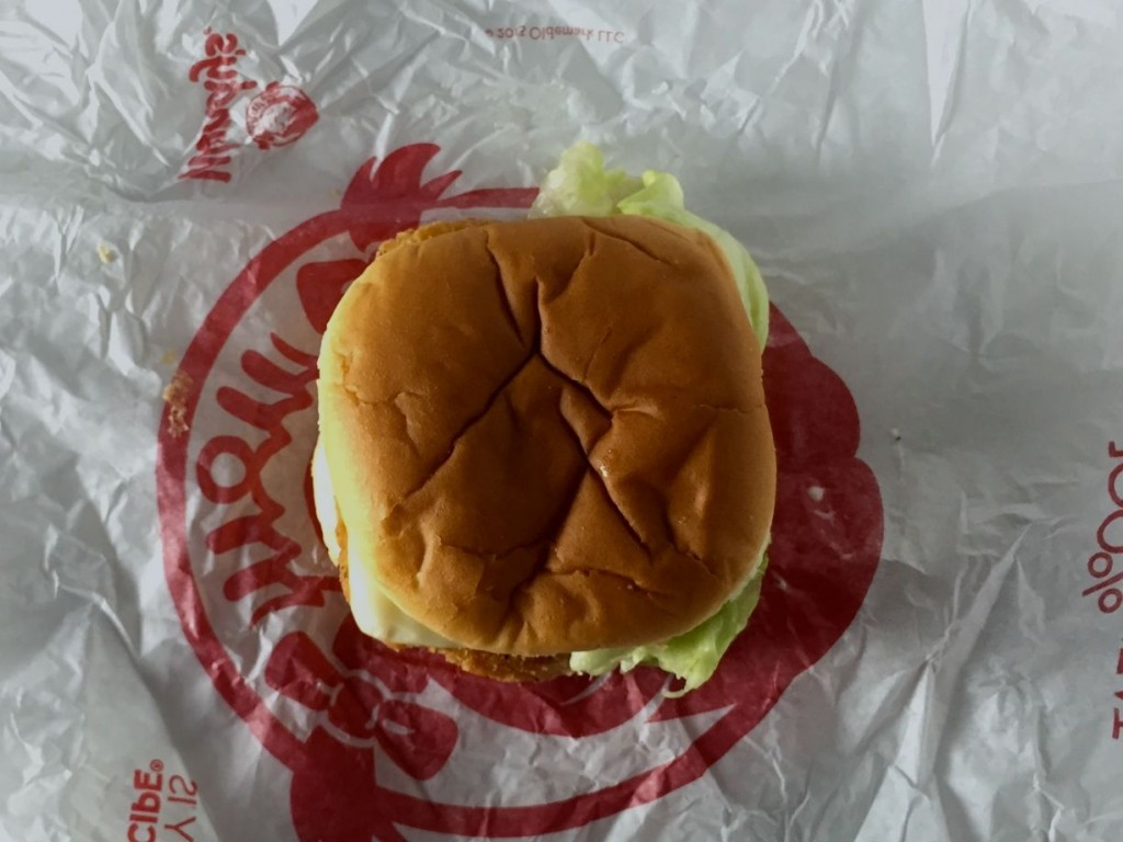 Wendy's Crispy Dill Chicken | getinmymouf.com