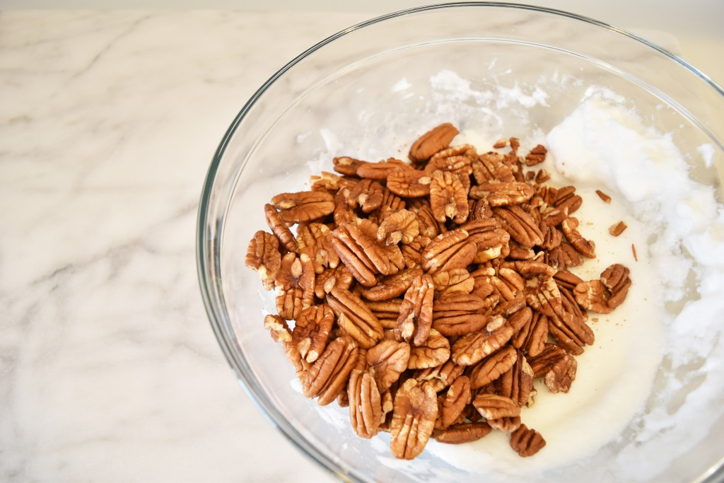 Pecan & Egg Whites | Get in My Mouf Spiced Pecans