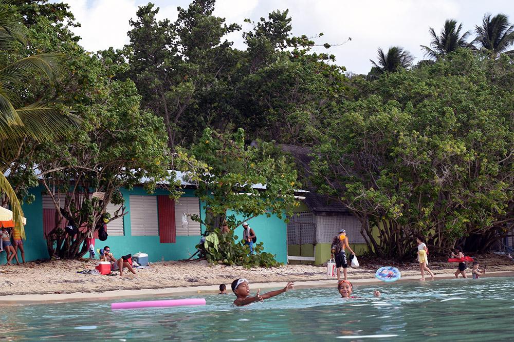 Playa Buye in Cabo Rojo, Puerto Rico