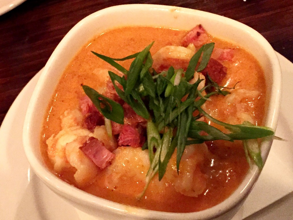 Shrimp & Grits | The Butcher and Barkeep | getinmymouf.com