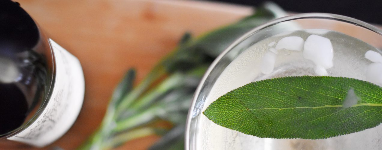 Cider & Sage Cocktail | getinmymouf.com