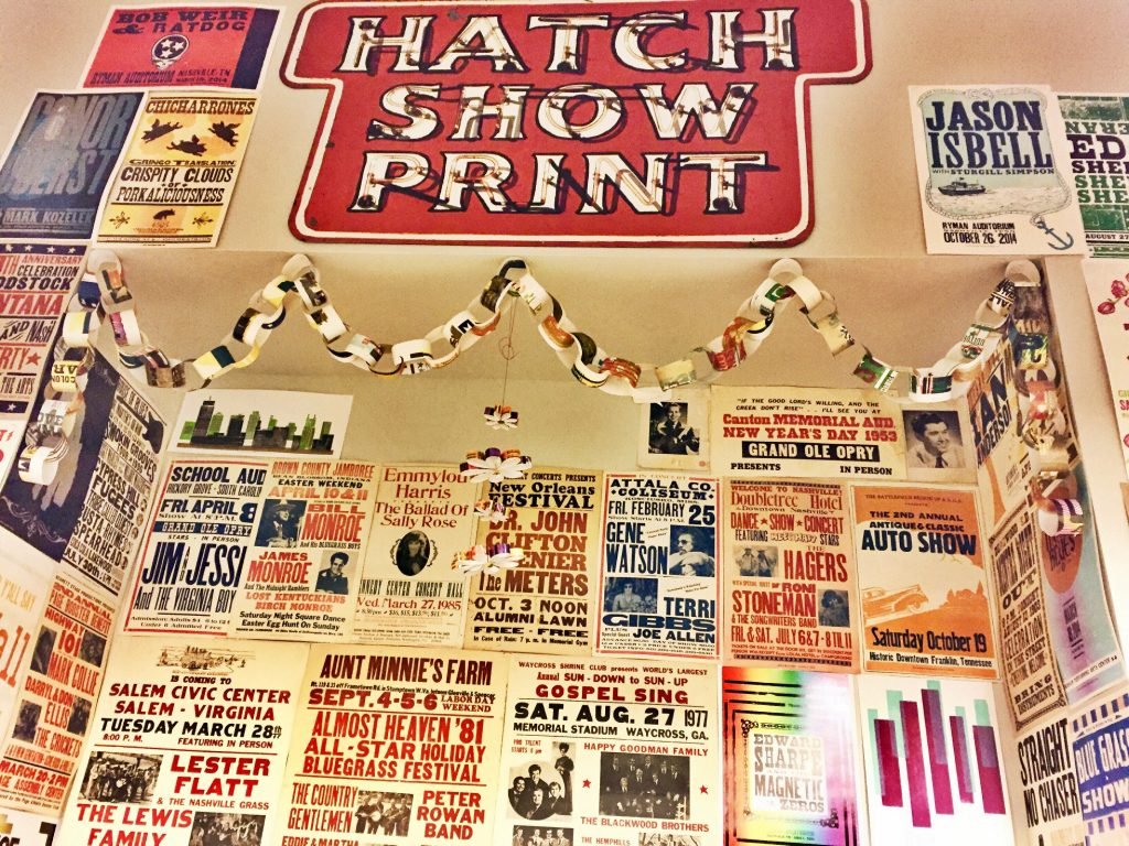 Get in my Mouf | Hatch Show Print, Nashville, TN