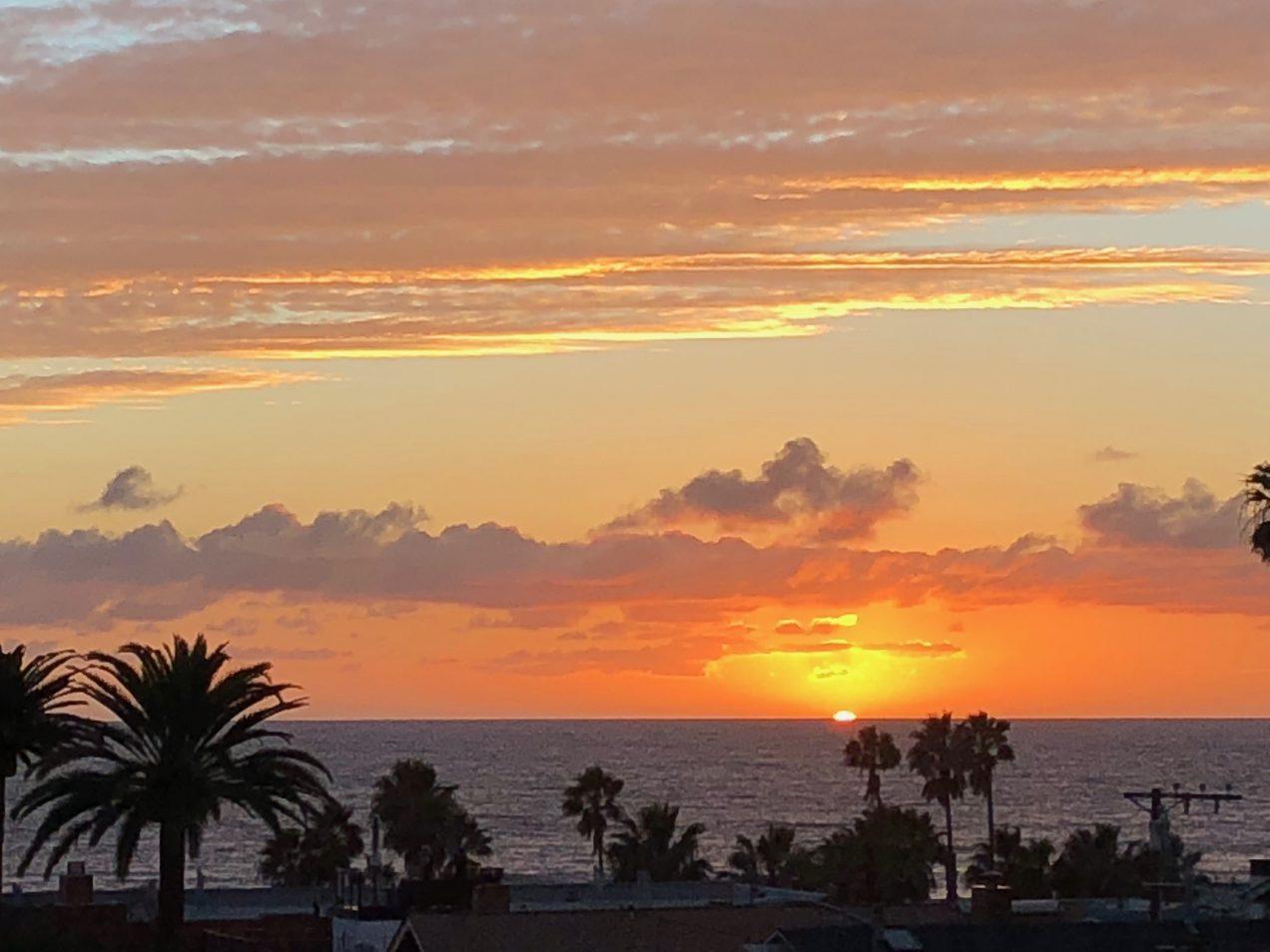 Santa Monica Sunset | getinmymouf.com